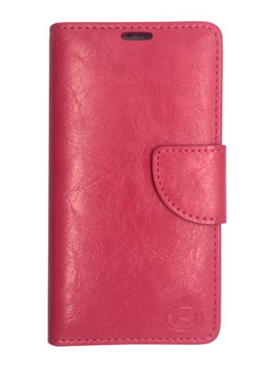 Premium Pink Wallet case for Samsung S6 Edge