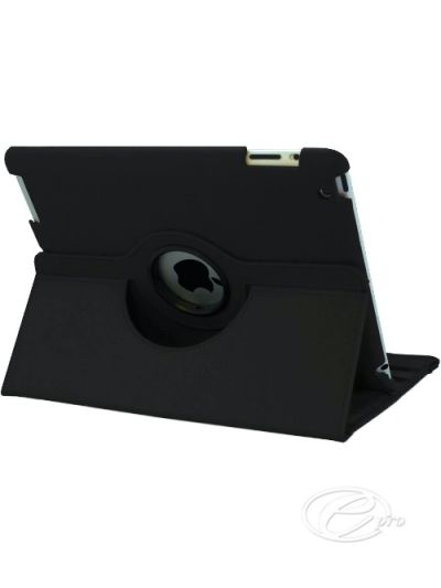 iPad 2/3/4 Black swivel Case