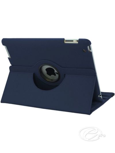New iPad (11) Navy Blue swivel Case