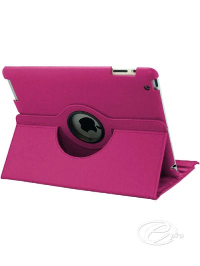 New iPad (11) Pink swivel Case