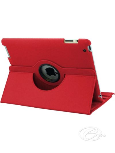 iPad 2/3/4 Red swivel Case