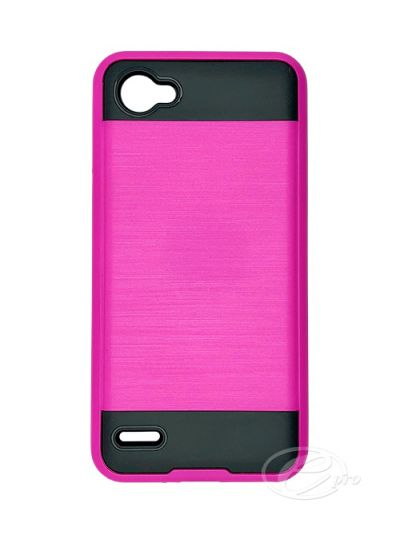 Case Fusion LG Q6 Hot Pink