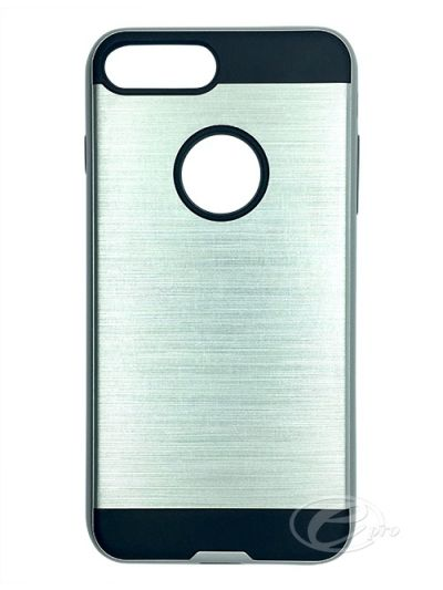 iPhone 7 Plus Silver Fusion case