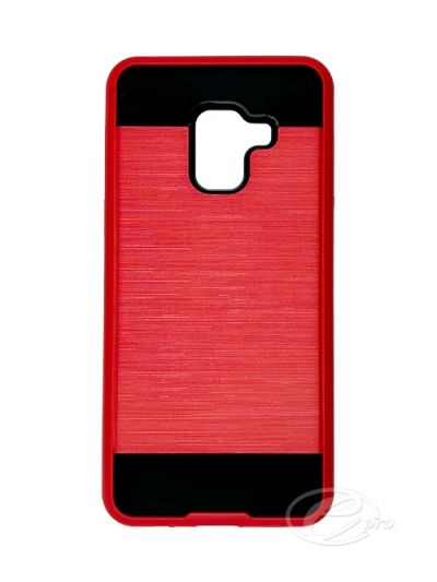 Case Fusion Samsung A8 Red