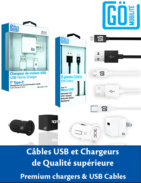 Wholesale distribution GO cellphone chargers